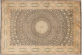 Kaschmir Reine Seide Teppich MSA80
