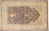 Kashmir pure silk carpet MSA231