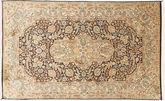 Kashmir pure silk carpet MSA322