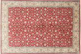 Kashmir pure silk carpet MSA68