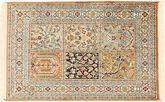 Kashmir pure silk carpet MSA526