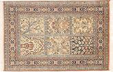 Kashmir pure silk carpet MSA542