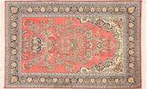 Kashmir pure silk carpet MSA410