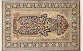 Kashmir pure silk carpet MSA401