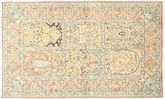 Kashmir pure silk carpet MSA354