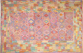 Alfombra Kilim Afghan Old style ABCS1380