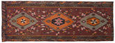 Kilim semi antique Turkish carpet NAZA459