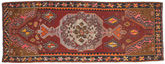 Kilim semi antique Turkish carpet NAZA460