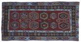 Kilim semi antique Turkish carpet NAZA482