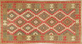 Kilim Afghan Old style carpet ABCS156