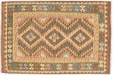 Kilim Afghan Old style carpet NAZB1707