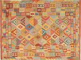 Kelim Afghan Old style tapijt AXVA293