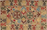 Kelim Afghan Old style Teppich AXVA622