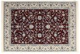 Nain Florentine - Dunkel Rot Teppich CVD15522