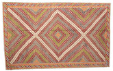 Kilim semi antique Turkish carpet XCGZK647