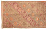 Kilim semi antique Turkish carpet XCGZK644