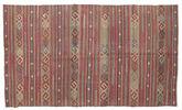 Kilim semi antique Turkish carpet XCGZK627