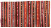 Kilim semi antique Turkish carpet XCGZK626