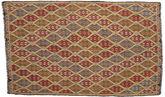 Kilim semi antique Turkish carpet XCGZK625