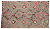 Kilim semi antique Turkish carpet XCGZK618