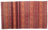 Kilim semi antique Turkish carpet XCGZK559
