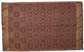 Kilim semi antique Turkish carpet XCGZK598