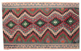 Kilim semi antique Turkish carpet XCGZK589
