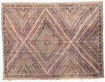 Kilim semi antique Turkish carpet XCGZK581