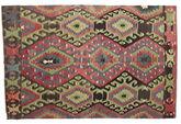 Kilim semi antique Turkish carpet XCGZK574