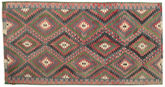 Kilim semi antique Turkish carpet XCGZK573
