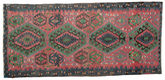 Kilim semi antique Turkish carpet XCGZK569