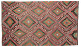 Kilim semi antique Turkish carpet XCGZK566