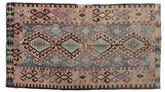 Tapis Kilim semi-antique Turquie XCGZK599