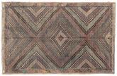 Kilim semi antique Turkish carpet XCGZK557