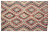 Kilim semi antique Turkish carpet XCGZK549