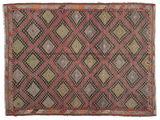 Kilim semi antique Turkish carpet XCGZK547