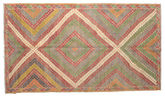 Kilim semi antique Turkish carpet XCGZK92