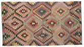 Kilim semi antique Turkish carpet XCGZK27