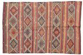 Kilim semi antique Turkish carpet XCGZK24