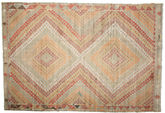 Kilim semi antique Turkish carpet XCGZK19
