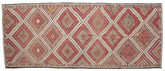 Kilim semi antique Turkish carpet XCGZK2