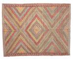 Kilim semi antique Turkish carpet XCGZK202