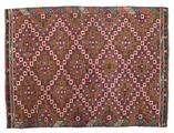 Tapis Kilim semi-antique Turquie XCGZK193