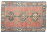 Tapis Kilim semi-antique Turquie XCGZK189