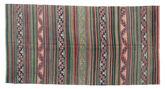 Kilim semi antique Turkish carpet XCGZK185