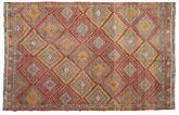 Tapis Kilim semi-antique Turquie XCGZK183