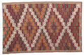 Kilim semi antique Turkish carpet XCGZK172