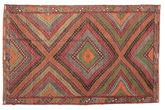 Kilim semi antique Turkish carpet XCGZK145
