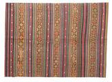 Kilim semi antique Turkish carpet XCGZK132
