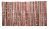 Kilim semi antique Turkish carpet XCGZK131